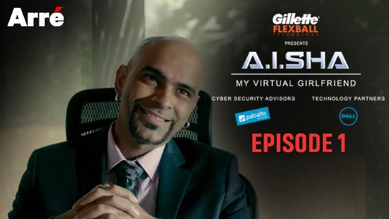 A.I.SHA My Virtual Girlfriend makes the virtual world meet reality.
