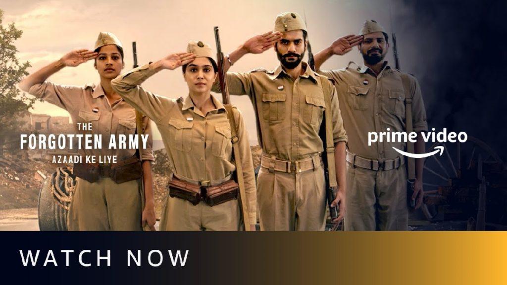 the forgotten army azaadi ke liye just web series review