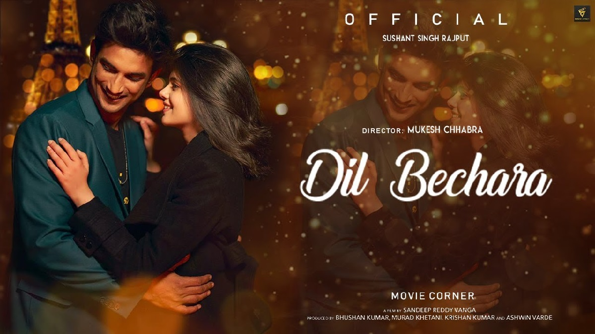 Dil Bechara- a tragic love that will leave you in tears.