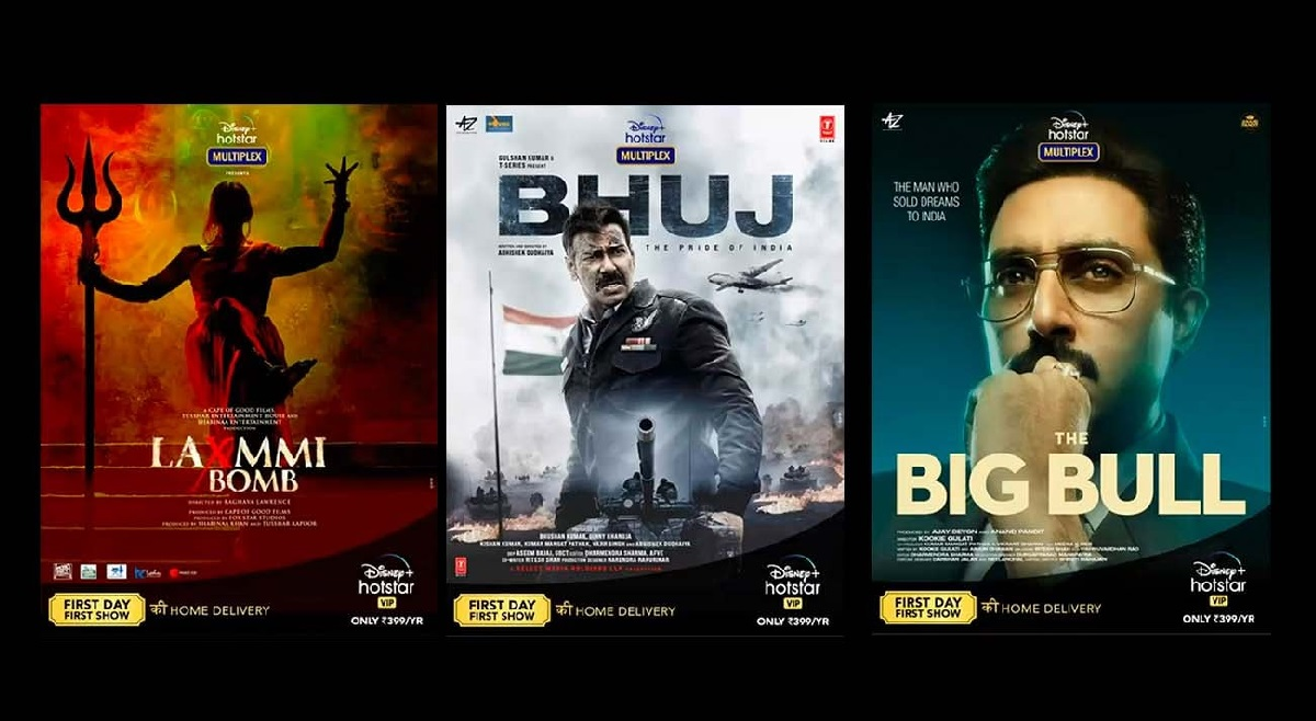 Seven movies announced with Disney+Hotstar Multiplex.