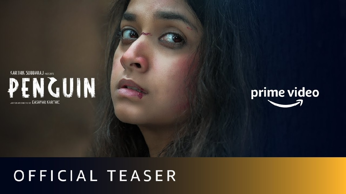 Keerthy Suresh's Penguin is here and it will give you chills.