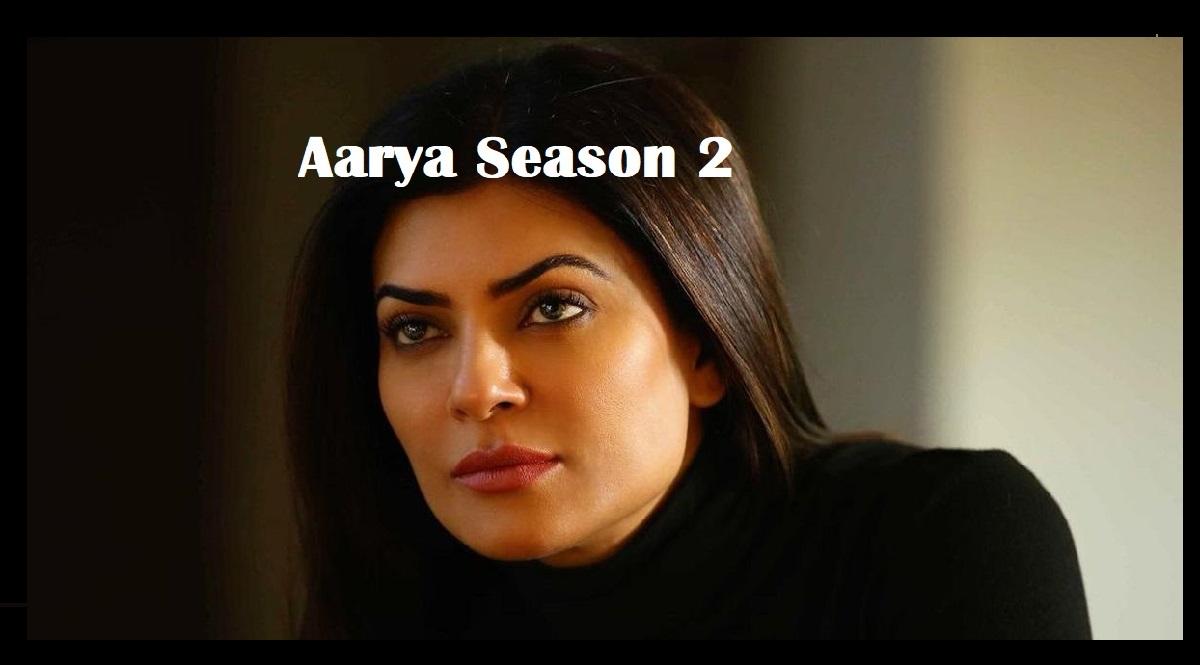 Sushmita Sen and Ram Madhvani announce Aarya Season 2 on Instagram live.