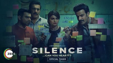 Silence- Can you hear it, Web Series Review Zee5