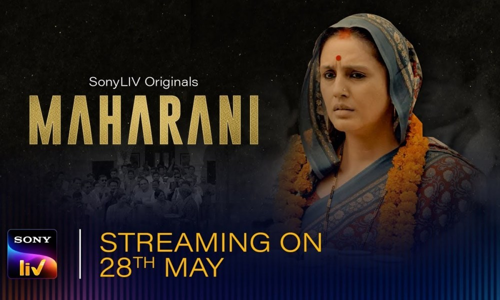 Maharani Web series is a gripping political drama is here with Huma Qureshi stealing the show.